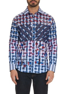 Men's Limited Edition The Steejo Sport Shirt Size: S by Robert Graham