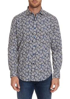 Robert Graham Men's Long-Sleeve Garnet Sport Shirt