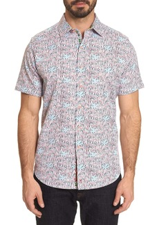 Men's Marda Short Sleeve Shirt Size: XS by Robert Graham
