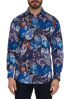 Robert Graham Men's Mayar Multicolor Sport Shirt