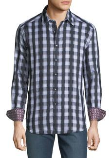 Robert Graham Men's Moroto Classic-Fit Plaid Shirt