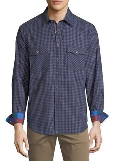 Robert Graham Men's Newcomb Check Sport Shirt