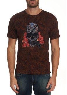 Robert Graham Men's One Eyed Skull Short-Sleeve Graphic T-Shirt