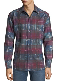 Robert Graham Men's Outwash Plains Woven Shirt