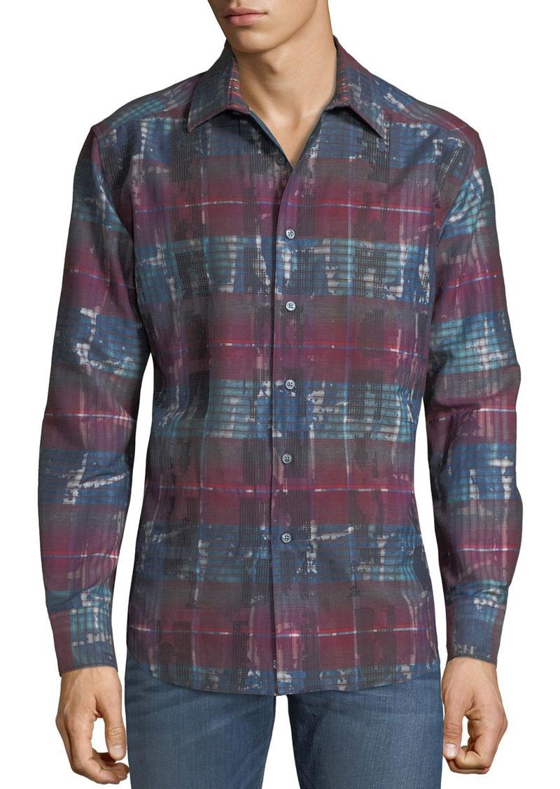 Robert Graham Men's Outwash Plains Woven Shirt