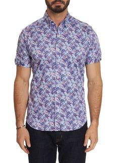 Robert Graham Men's Paladin Graphic Short-Sleeve Sport Shirt