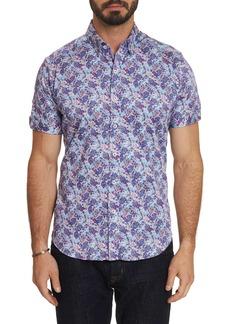 Men's Paladin Short Sleeve Shirt Size: S by Robert Graham