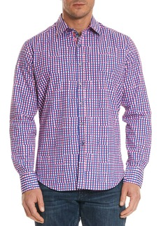 Robert Graham Men's Perez Classic Fit Broken Gingham Sport Shirt