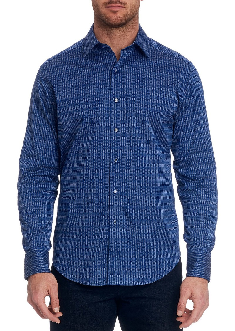 Robert Graham Men's Pico Graphic Sport Shirt