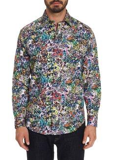 Robert Graham Men's Rallis Flower Power Sport Shirt