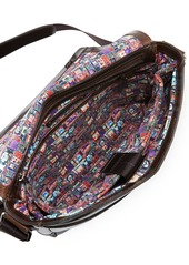 Robert Graham Men's Read Leather Messenger Bag