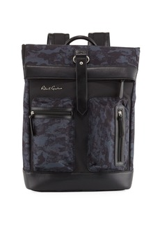 Robert Graham Men's Rendell Mixed Media Backpack