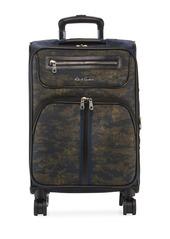 Robert Graham Men's Roark Camo Spinner Carry-On Luggage