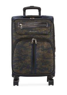 Robert Graham Men's Roark Camo Spinner Carry-On Luggage
