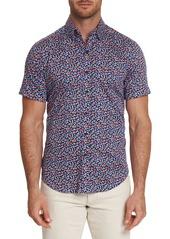 Robert Graham Men's Roark Graphic Short-Sleeve Sport Shirt