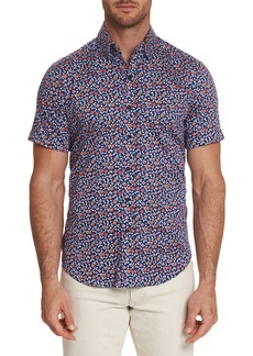 Robert Graham Men's Roark Graphic Short-Sleeve Sport Shirt