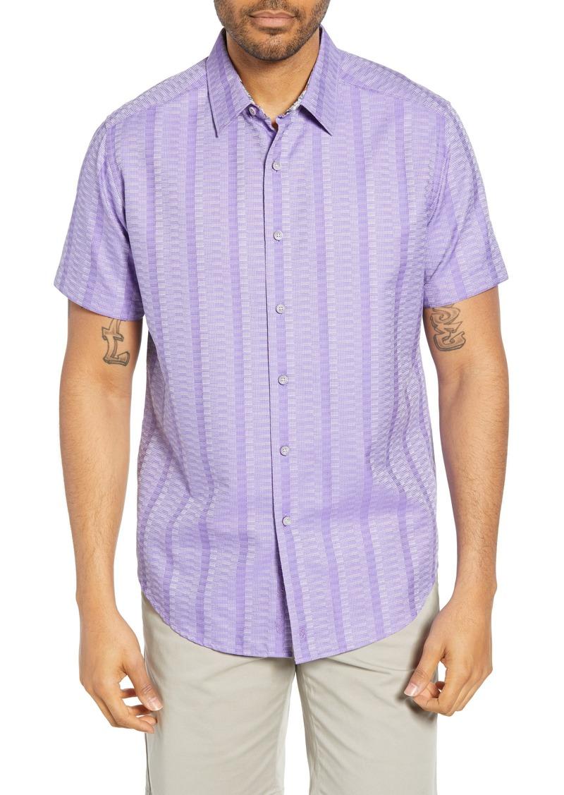 Men's Robert Graham Classic Fit Dyson Cotton Shirt
