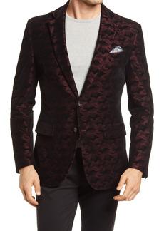 Men's Robert Graham Hoyle Classic Fit Camo Velvet Dinner Jacket