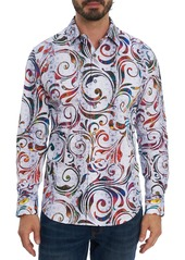 Men's Robert Graham Tempo Classic Fit Stretch Button-Up Shirt