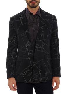 Men's Big & Tall Robert Graham X Marvel Spider Sense Sport Coat