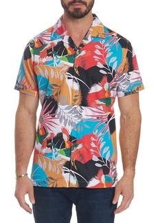 Robert Graham Men's Sakura Short-Sleeve Button Shirt