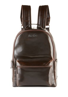 Robert Graham Men's Saunders Leather Backpack
