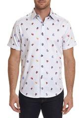 Robert Graham Men's Sea Ribbon Short-Sleeve Sport Shirt