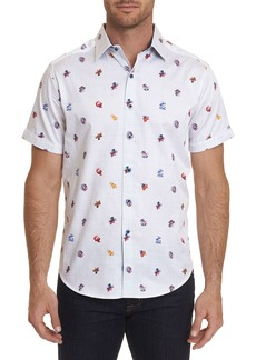 Robert Graham Men's Sea Ribbon Short-Sleeve Sport Shirt