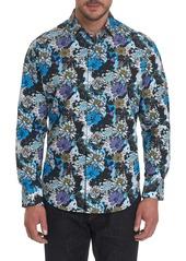 Men's Secret Gardens Sport Shirt Size: S by Robert Graham