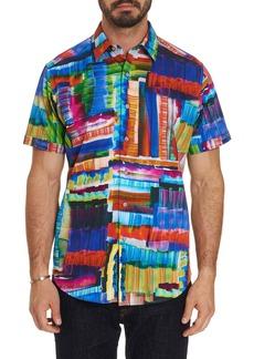 Robert Graham Men's Short-Sleeve Graphic Print Shirt