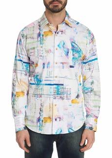 Men's Stagecoach Sport Shirt Size: XS by Robert Graham