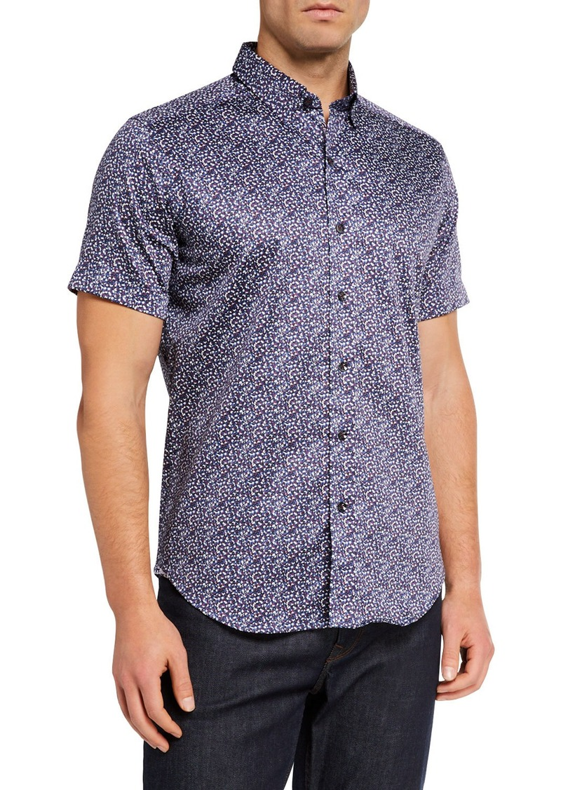 Robert Graham Men's Tailored-Fit Amado Short-Sleeve Sport Shirt