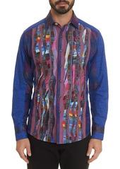 Robert Graham Men's The Osta Multipattern Sport Shirt w/ Contrast Reverse Detail