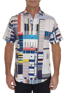 Robert Graham Men's Tofo Graphic-Printed Short-Sleeve Shirt