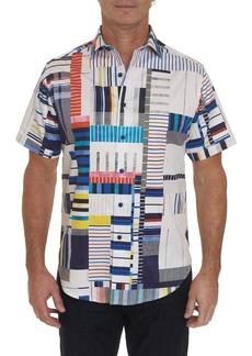 Men's Tofo Short Sleeve Shirt Size: XS by Robert Graham