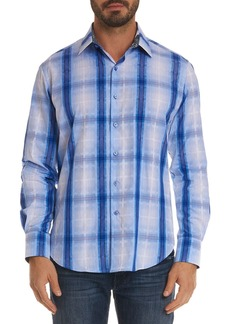Robert Graham Men's Tonga Classic Fit Plaid Sport Shirt