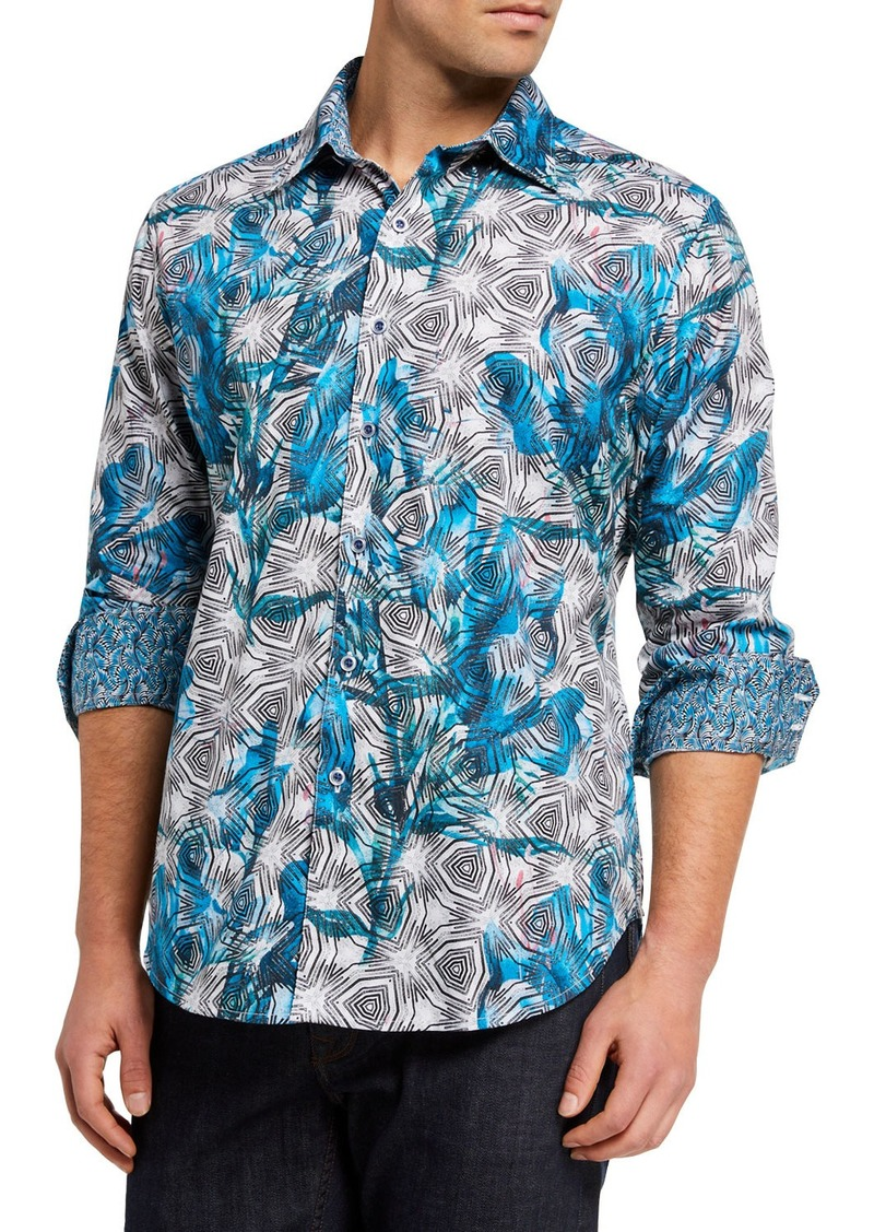 Robert Graham Men's Tooker Long-Sleeve Sport Shirt
