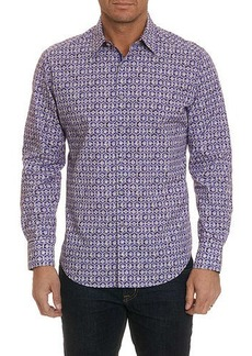 Robert Graham Men's Tresco Geo Graphic Sport Shirt