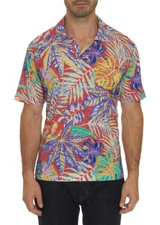 Men's Tropique Polo Shirt Size: XS by Robert Graham
