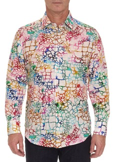 Robert Graham Men's Zimbali Linen Sport Shirt
