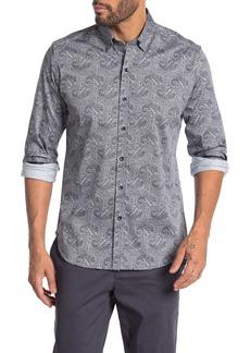 Robert Graham Merriwether Tailored Fit Paisley Printed Dress Shirt