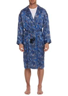 Robert Graham Monte Cristo Silk Robe