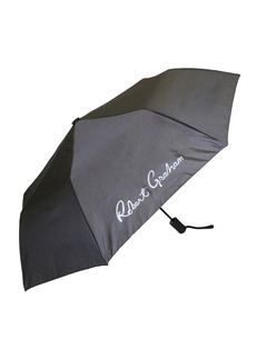 Robert Graham Moris Skull/Floral-Print Auto Open Umbrella