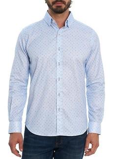 Robert Graham Mydland Tailored-Fit Polka Dots Shirt
