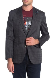 Robert Graham Nestor Plaid Notch Collar Dual Button Tailored Fit Sportcoat