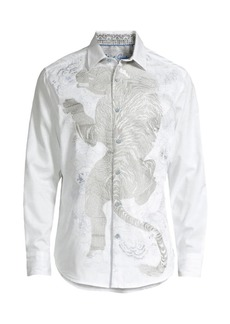 Robert Graham Out Of The Wild Graphic Shirt