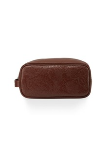 Robert Graham Paisley Faux-Leather Travel Case