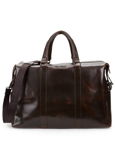 Robert Graham Paton Leather Duffel Bag