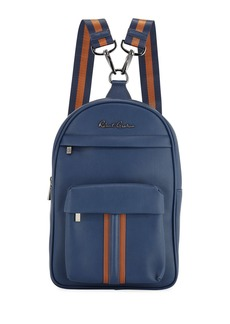 Robert Graham Perforated Faux-Leather Mini Backpack