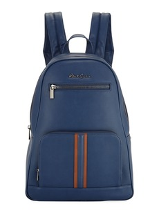 Robert Graham Perforated Faux-Leather Zip Backpack